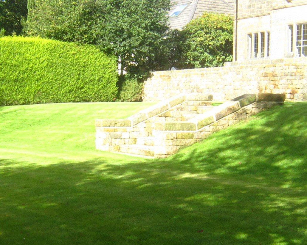 sloping garden ilkley 2014 2015 melissa morton garden design
